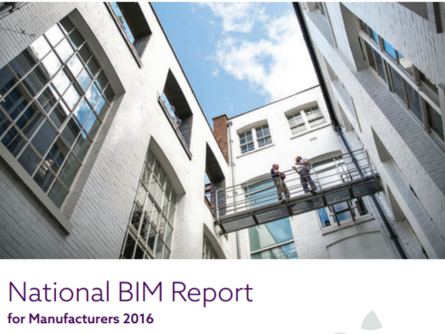 National BIM report for manufacturers (2016)