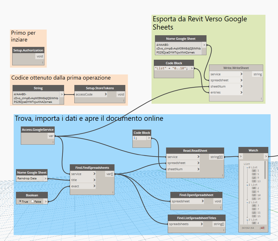 Import Data From Excel Dynamo
