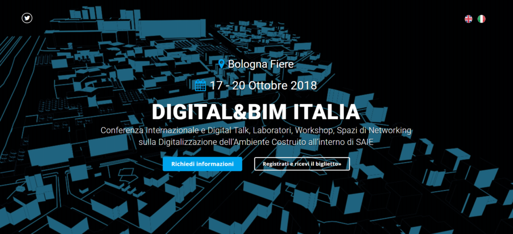 Il BIM User Group Italia va a Digital&BIM by SAIE (Bologna 17-20 Ottobre 2018)
