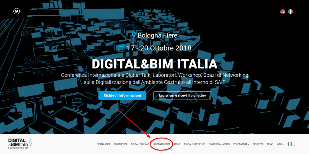 I Laboratori del BIM User Group Italia a Digital&BIM by SAIE (17-19 Ottobre, Bologna)