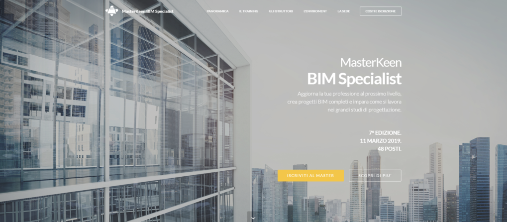 Strategie Digitali per AM4 MasterKeen 5 e 6: BIM, Computational BIM e Generative Design a Lecco